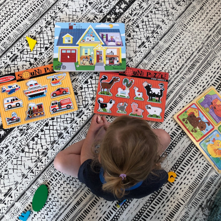 Purposeful Play with Puzzles