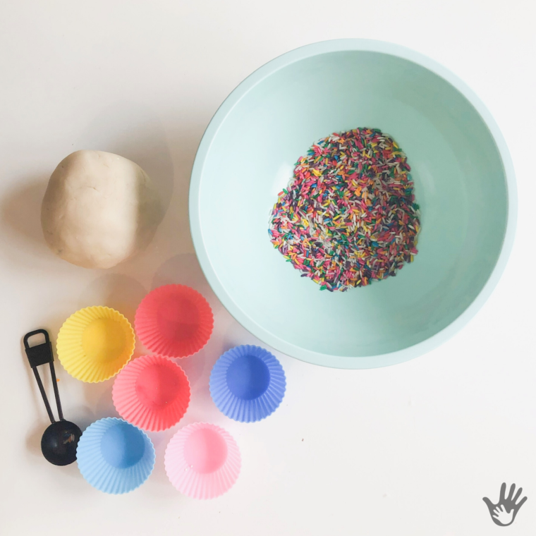 "How to Make Rainbow Rice ""Sprinkles"""