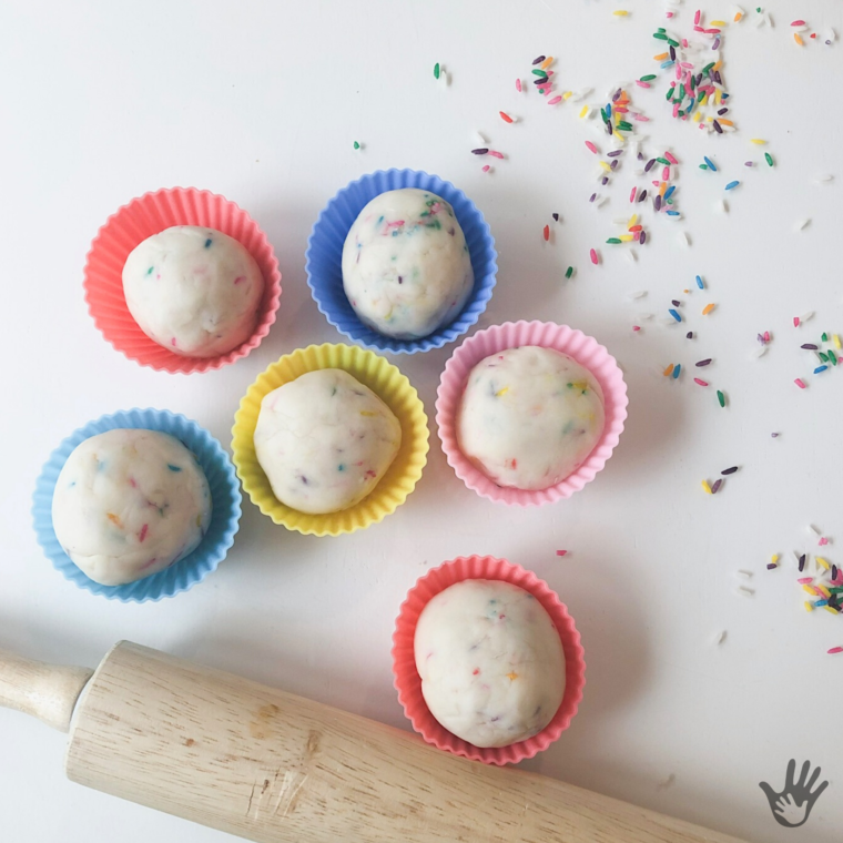 DIY Funfetti Play Dough