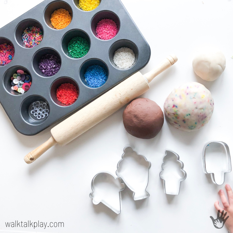 Play Dough Cookie Making