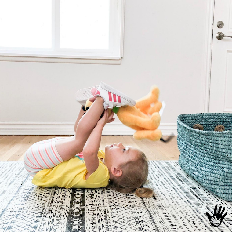 Core Strengthening Exercises for Kids | Getting Creative During Clean Up