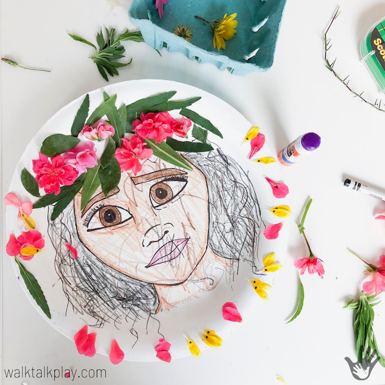 Flower Crafts for Preschoolers Crazy About Princesses