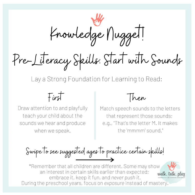 Pre-Literacy Skills in Preschool: Where to Start