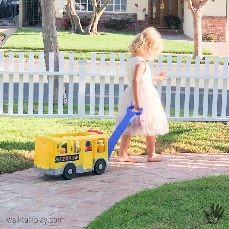 Toys We Love: Little People Big Yellow Bus