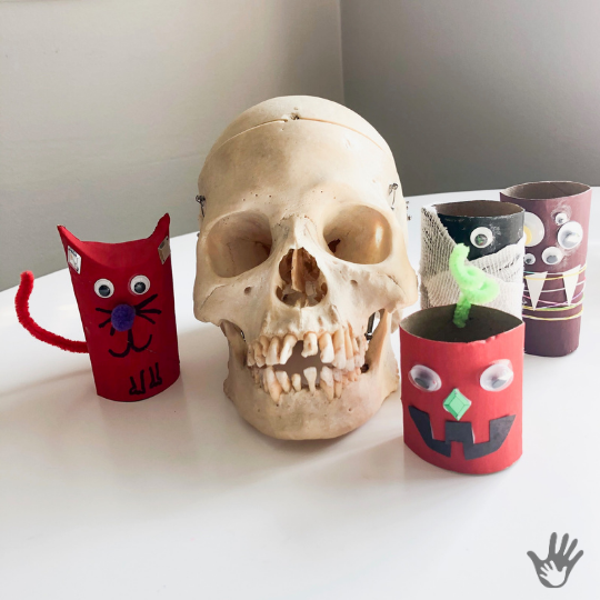 Toilet Paper Craft Monsters