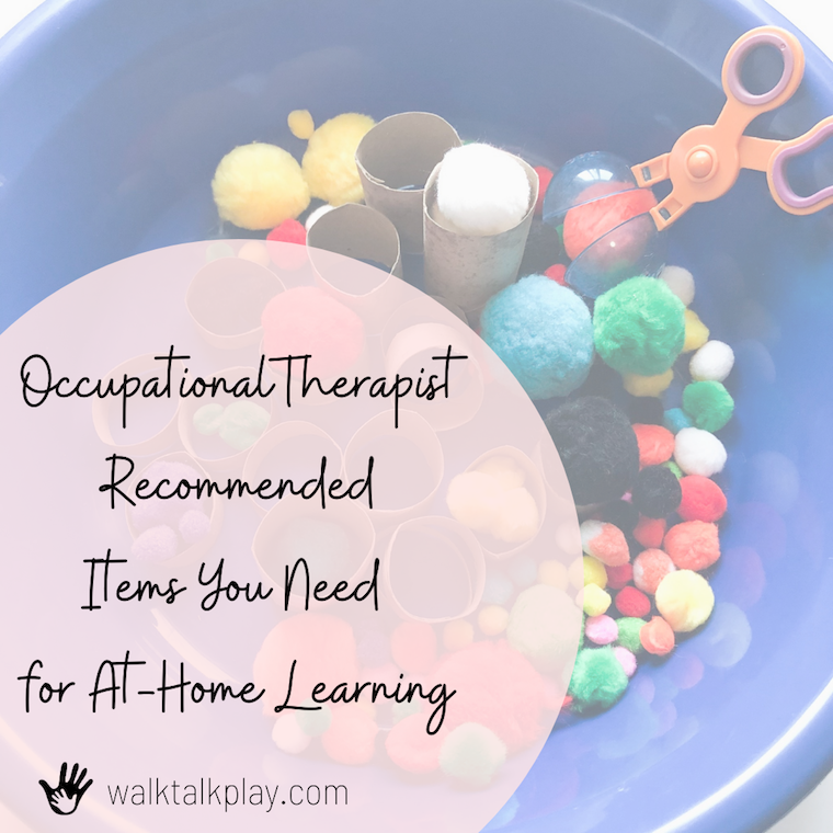 OT Recommended Items for Distance Learning