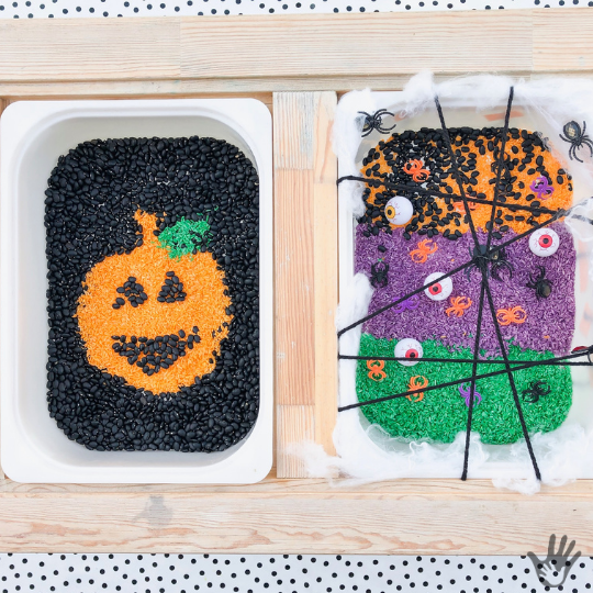 Halloween Sensory Bin Fun: With Tips for Extending Play