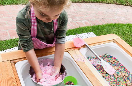 Let's Get Tactile! Benefits and Tips for Setting Up a Sensory Bin