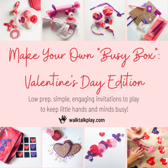 Quick and Easy Valentine Projects for Preschoolers