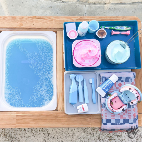 Dental Health Sensory Bin